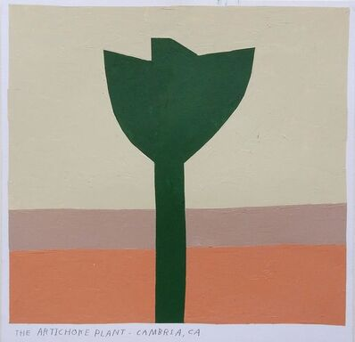 Kristin Texeira, 'the artichoke plant, cambria, ca', 2017