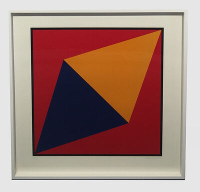 Charles Hinman, 'Orange Triangle', 2012