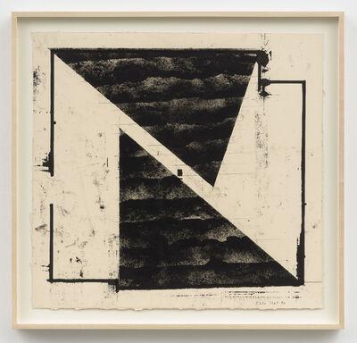 Barry Le Va, 'Untitled (Blown Chalk)', 1969-90