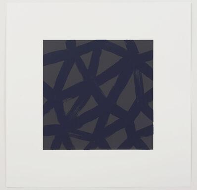 Ivo Ringe, '9 prints of Eugen Gomringer and Ivo Ringe in Linnen box: vorhergehendes im zusammenhang mit folgendem', 2017
