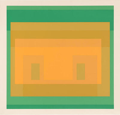 Josef Albers, 'I-S Va 6, from Six Variants', 1969
