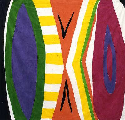 Kim MacConnel, 'Untitled #3 (black, white, green, purple, yellow, orange, magenta, brown)', 2003