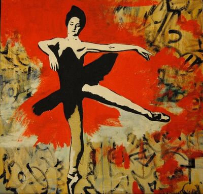 Blek le Rat, 'Danseuse', 2009