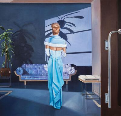 Kristen Thiele, 'Blue Corridor', 2017