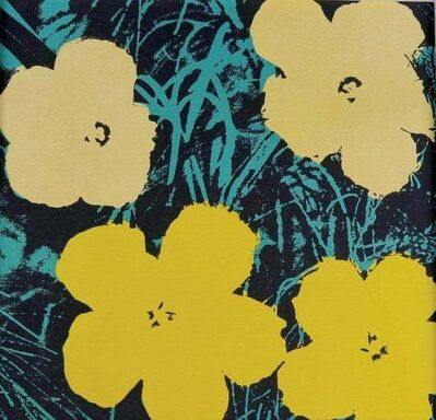 (after) Andy Warhol, 'Flowers VII', 1970