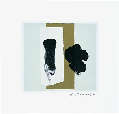 Robert Motherwell, 'The Berggruen Series: Untitled', 1980