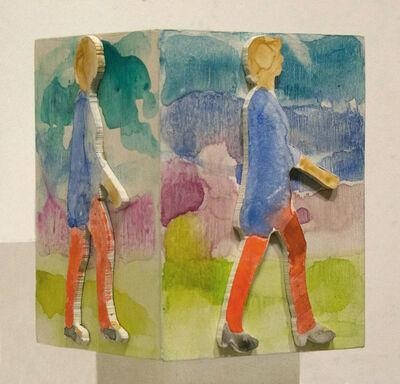 Peik Larsen, 'Walking/Box', 1989-2016