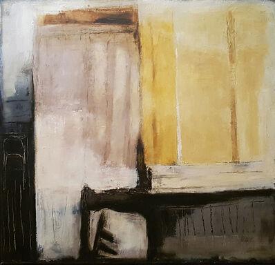 Ercole Monti, 'Finestra Tenda Gialla', 2018