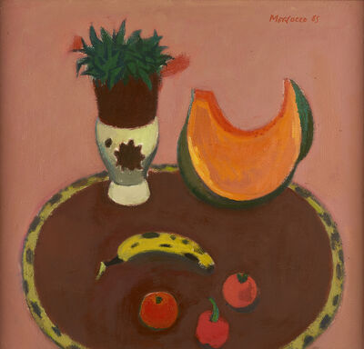 Alberto Morrocco, 'Pumpkin and Cactus', 1985