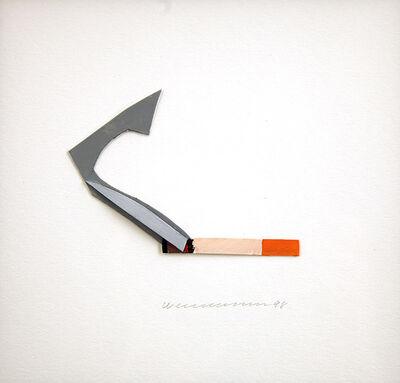 Tom Wesselmann, 'Smoking Cigarette', 1998