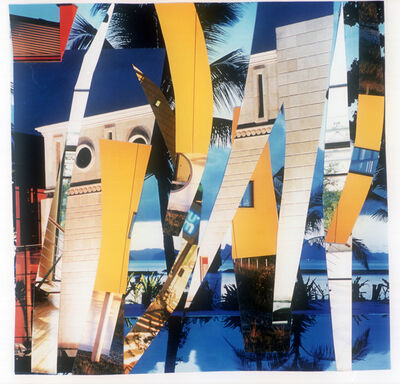 Isa Genzken, 'Architekturcollage', 2001
