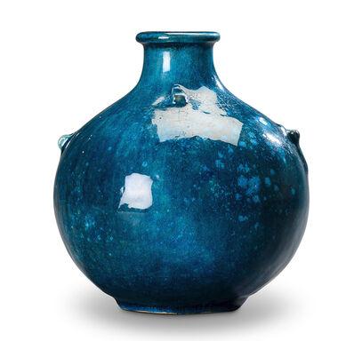 Svend Hammershøi, 'Small cerulean vase ', ca. 1910