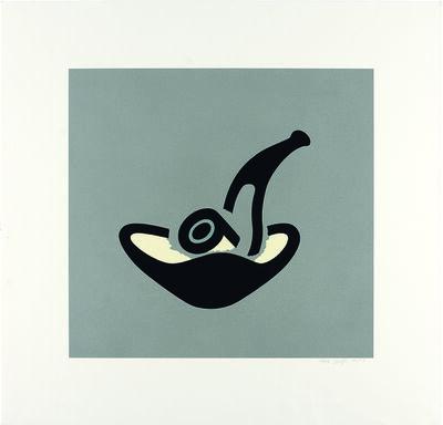 Patrick Caulfield, 'Grey Pipe', 1981