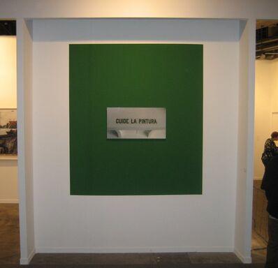 Antoni Muntadas, 'Cuide la pintura', 2007