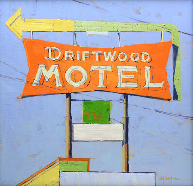 Stephanie Hartshorn, 'Driftwood Motel Orange', 2014