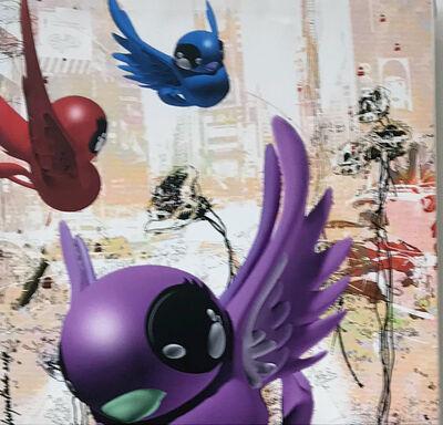 Miguel Paredes, 'Birds over Manhattan', 2018