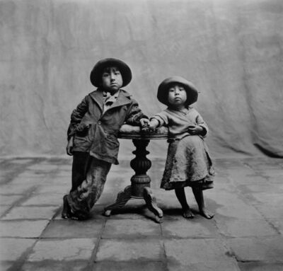 Irving Penn, 'Cuzco Children, Peru', 1948