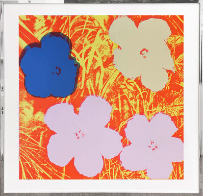 Sunday B. Morning, 'Flowers - purple, blue, yellow, orange', 1970