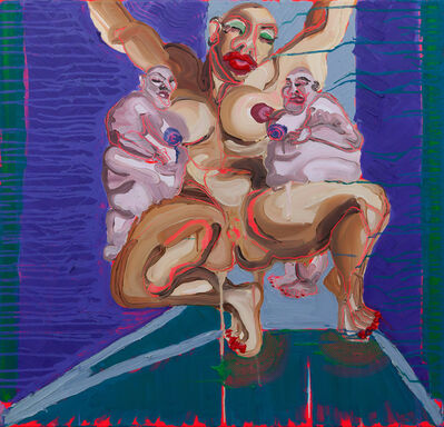 Mia Wilkinson, 'X MARKS THE SPOT', 2016