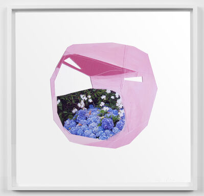 Jude Broughan, 'First Quarter Moon (Hydrangea)', 2020