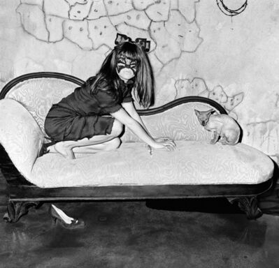 Roger Ballen, 'Selma Blair and sphinx ', 2005