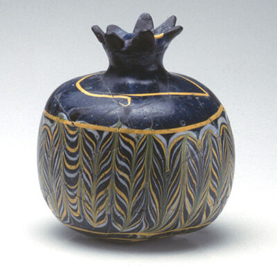 'Pomegranate shaped vessel'