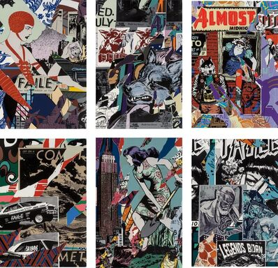 FAILE, 'Savage Sacred Young Minds, portfolio', 2015-16