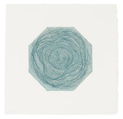 Kim Lim, 'Blue Octagon', 1969