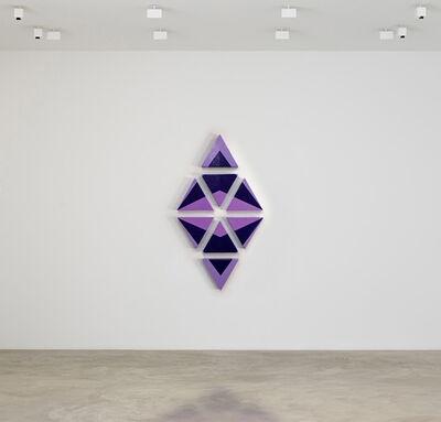 Konstantin Mindadze, 'Violet Rhomb', 2016
