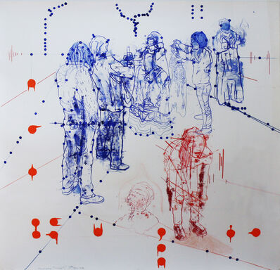 Jon Cattapan, 'Atonal Group, Cannareggio 3', 2014