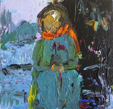 Rita Guile, 'Woman With Flower', 2018