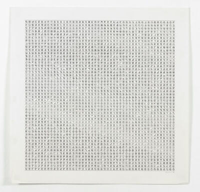 Manfred Mohr, 'P-155aa', 1974