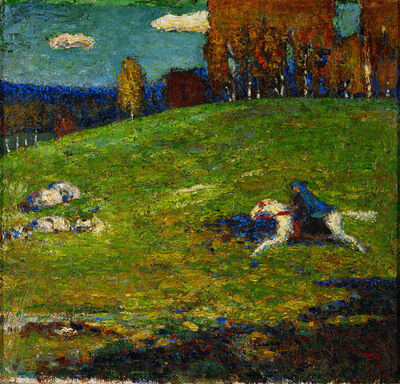 Wassily Kandinsky, 'The Blue Rider', 1903