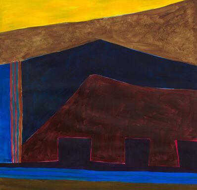 Lee Hall, 'DELPHI RAMPARTS', 1985