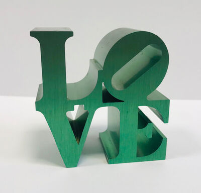 Robert Indiana, 'LOVE (Green)', 2009
