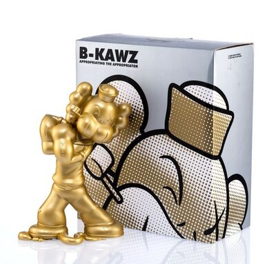 Necessaries Toy Foundation, 'B-KAWZ: Appropriating the Appropriator (Gold)', 2010