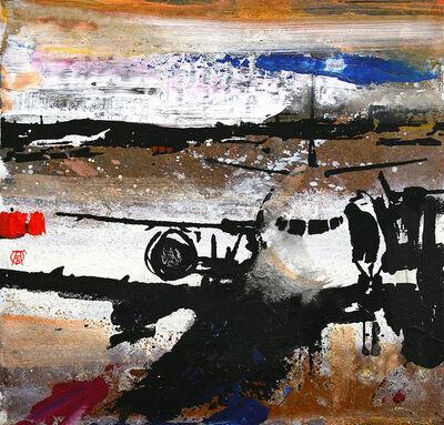 Alessandro Busci, 'Aeroporto nero', 2019