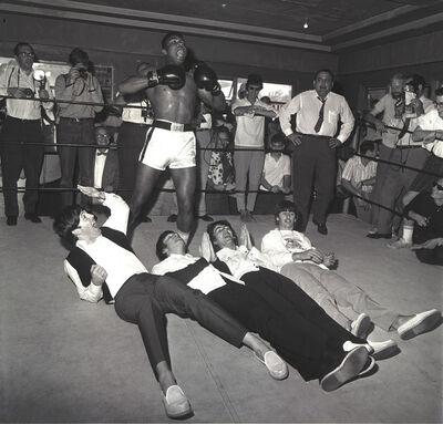 Harry Benson, 'The Beatles Cassius Clay, Miami', 1964