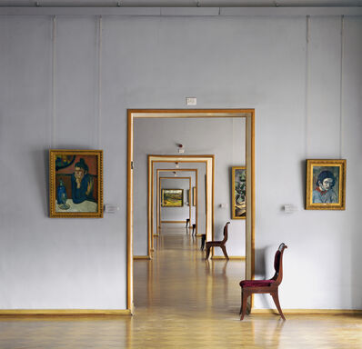 Andrew Moore, 'Room 348 (Square), Hermitage, St. Petersburg, Russia', 2002