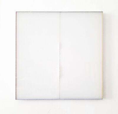 Herbert Warmuth, 'Weiß durch weiß, R2', 2020