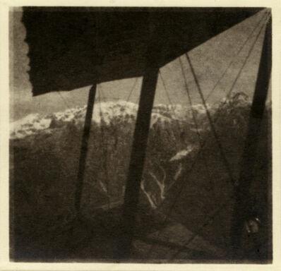 Rudolf Koppitz, 'Flugaufnahme Mit Berg', 1917
