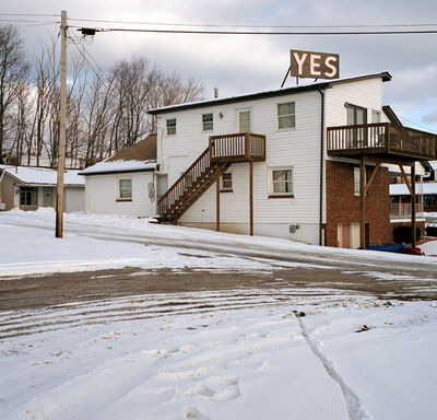 Jeff Brouws, 'YES, Stuebenville, Ohio', 2001