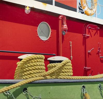 Joseph E. Richards, 'Red Tug '99', 1999