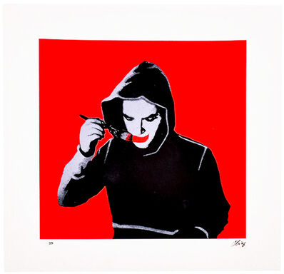 Kunstrasen, 'ART MAKES ME HAPPY  (Hand Finished)', 2016