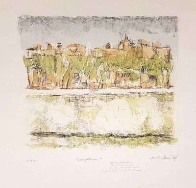 Duilio Rossoni, 'Lungotevere in Rome', 1969