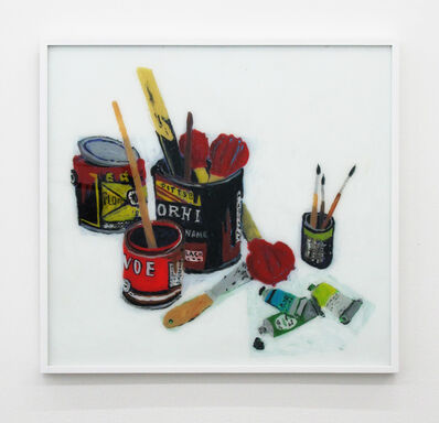 Rose Eken, 'Still Life With Paint Tubes And Spatular', 2016