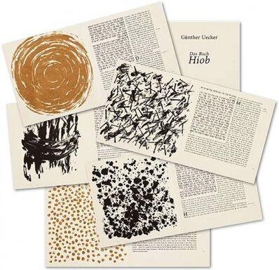 Günther Uecker, 'Buch Hiob, 47 works', 2007