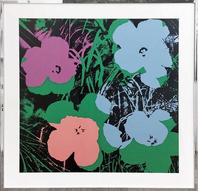 Sunday B. Morning, 'Flowers - light blue, violet, pink, green', 1970