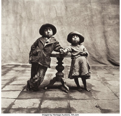 Irving Penn, 'Cuzco Children, Peru, December', 1948