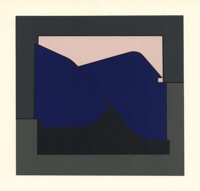 Victor Vasarely, 'Serigraph (form the Geh durch den Spiegel portfolio)', 1961